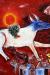 1946, Marc Chagall : La vache avec un parasol