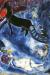 1947, Marc Chagall : La Madone au traineau