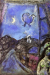 1950, Marc Chagall : Le soir à la fenêtre