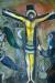 1951, Marc Chagall : Le Christ et le peintre