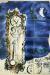 1950-52, Marc Chagall : L'Horloge, céramique en 12 carreaux