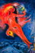 1954-55, Marc Chagall : Nu rouge