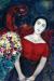 1955, Marc Chagall : Portrait de Vava