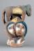 1957, Marc Chagall : Les amoureux et la bête