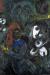 1957, Marc Chagall : Les saltimbanques dans la nuit