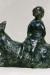 1960, Marc Chagall : Jeune femme sur la chèvre, ou Enfant sur la chèvre, bronze (1982)