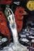 1965, Marc Chagall : Les amoureux au coq rouge