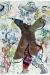 1968-70, Marc Chagall : Au fil du temps (Homme au manteau-botte inversé), planche II des Poèmes (Comme un barbare), Cramer