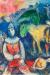 1980, Marc Chagall : Deux ânes verts