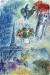 1980-81, Marc Chagall : Les mariés dans le ciel de Paris
