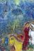 1982, Marc Chagall : Les fiancés au cirque