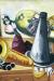 1926, Max Beckmann : Stillleben mit saxophonen
