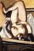 1927, Max Beckmann : Nu féminin avec chien