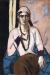 1934, Max Beckmann : Quappi en rose