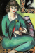 1936, Max Beckmann : Quappi with parrot