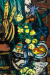 1937, Max Beckmann : Bodegon con rosas amarillas