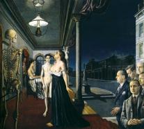 1943, Paul Delvaux : Le musée Spitzner