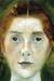 1897, Paula Modersohn-Becker : Selbstbildnis frontal