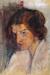 1897, Paula Modersohn-Becker : Selbstbildnis nach halblinks