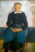 1898, Paula Modersohn-Becker : Femme assise les mains croisées sur les genoux