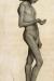 1898, Paula Modersohn-Becker : Stehender Junge mit angewinkeltem rechtem Arm