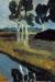 1899, Paula Modersohn-Becker : Graue Landschaft mit Moorkanal
