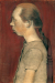 1899, Paula Modersohn-Becker : Paysanne assise, profil gauche