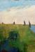 1900, Paula Modersohn-Becker : Hamme Landschaft mit Torfkahnen