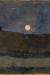 1900, Paula Modersohn-Becker : Lune au-dessus d'un Paysage
