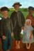 1900, Paula Modersohn-Becker : Vier Kinder am Moorkanal