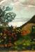 1901, Paula Modersohn-Becker : Ferme avec bosquet fleuri et chat