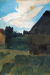 1902, Paula Modersohn-Becker : Barn in the evening light