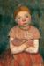 1903, Paula Modersohn-Becker : Sitzendes Mädchen mit verschraken Armen