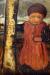 1904, Paula Modersohn-Becker : Kleines Kind neben einem Birkenstamm