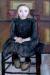 1905, Paula Modersohn-Becker : Enfant du pays assise sur une chaise