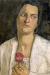 1905, Paula Modersohn-Becker : Portrait of Clara Rilke Westhoff (sculptrice et meilleure amie)