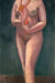 1906, Paula Modersohn-Becker : Autoportrait nu