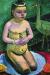 1906, Paula Modersohn-Becker : Enfant nu avec une cigogne