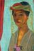 1906, Paula Modersohn-Becker : Selbstbildnis