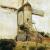 1904, Piet Mondrian : Moulin à Heeswijk