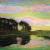 1906-07, Piet Mondrian : Landschap met bomen en water