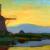 1907-08_Piet-Mondrian_Oostzijdse Mill in the Evening