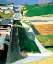 1963, Richard Diebenkorn : Cityscape #1