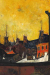 1950s, Syed Haider Raza : Les Toits de la rue St.-Jacques