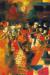 1964, Syed Haider Raza : Village en fête