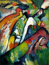 1910, Vassily Kandinsky : Improvisation 7 (Sturm)