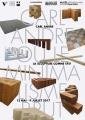 Carl Andre, projet d'affiche pour le musée Paul Dini