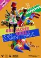 Femme & Artiste : Niki de Saint Phalle, projet d'affiche pour le musée Paul Dini