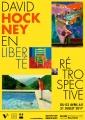 David Hockney, projet d'affiche pour le musée Paul Dini