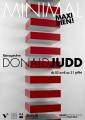 Donald Judd, projet d'affiche pour le musée Paul Dini